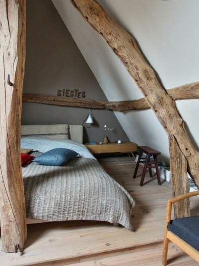 bluepueblo:  Treehouse Bedroom, Normandy, France photo via tiina