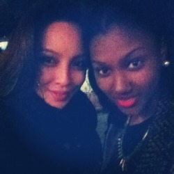 Writer Malaya & Bianca at Nuit Blanche