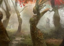 mererecorder:  Magic the Gathering: Dryad Arbor by *Cryptcrawler