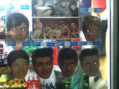 I found these in Penn Station and I find them quite frightening.