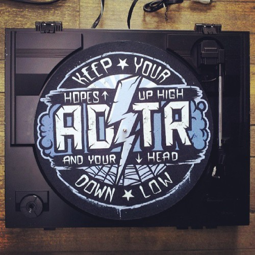 victoryrecords:  This A Day To Remember vinyl slip mat is now available at www.victorymerch.com #adtr #adaytoremember #victorymerch #victoryrecords