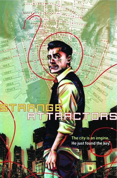 thirdeyecomics:  THIRD EYE PICKS OF THE WEEK: STRANGE ATTRACTORS HC — Here's one that we sneak-peek debuted at our Free Comic Book Day signing last week, and that I'm really excited to see on the shelves this week! This is going to be one of those killer graphic novels that you're going to see all over the Top 10 lists at the end of 2013, and we're telling you now, Third Eye Faithful: make sure you snag yourself a copy of this gorgeous book as soon as ya can; cause it's a must-have. In order to set himself up with a cushy job post-graduation, Heller Wilson takes on a subject for his PhD thesis at the behest of his advisor. This leads him to meet with Dr. Spencer Brownfield, a disgraced Columbia professor who spent his career researching Complex Theory, the idea that one can use mathematics to predict the large-scale outcomes caused by minute changes in environment. At first, Dr. Brownfield seems crazy, but Heller soon discovers that the doctor's research might be the only thing keeping New York City from destroying itself from the inside out. Both in terms of storytelling and artwork, this book is pure quality comics all over the place. A great, compelling plot with gorgeous art that compliments the storytelling perfectly; combined with the incredible design and layout of the book by Archaia, who've wowed us with their MOUSE GUARD series, among others. We highly recommend snagging Strange Attractors this Wednesday, and giving it a shot. It's a big, pretty hardcover with a powerful story inside.. and it's only $19.99. Trust us: you can't go wrong with this one.