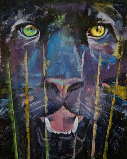 "creese:  Michael Creese, ""Panther"" (2010)"