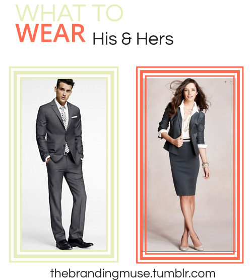 We are in the middle of job interview season, are you dressing to impress?  When going to a corporate interview, wearing a professional outfit is key to landing that job or internship.