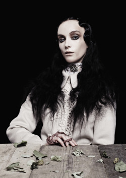"stormtrooperfashion:  Max and Elina in ""Memento Mori"" by Cornelius Käss for REVS Magazine, May 2013"