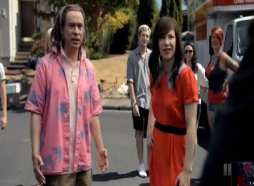 Portlandia shows what happens when you try to come up with a protest anthem in the modern day Portlandia season 3 is upon us, and one of the new sketches has the characters attempt to come up with a protest song today. 'Bot Dylan', dance beats and dubstep seem to always get in the way. Watch Here
