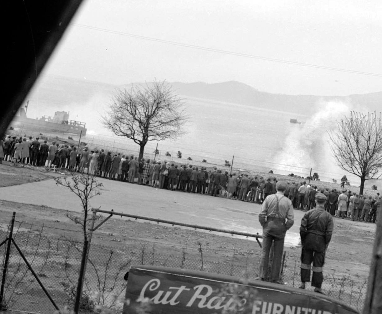 Kits beach commando raid demo, Saturday 1 May 1943 Source: City of Vancouver Archives #Be N34.4