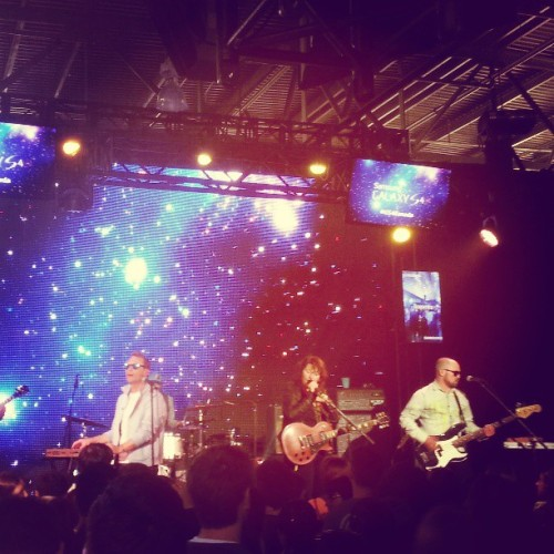 STARS @youarestars playing at #GS4Canada Galaxy S4 launch. Nicely done @samsungcanada  (at Samsung Galaxy S4 Launch Party)