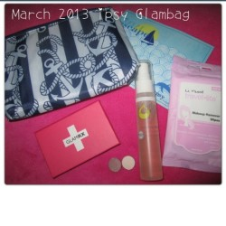 New #blogpost  #ipsy #glambag #march2013ipsy #marchglambag #yaby #juicebeauty #lafresh #glamrx