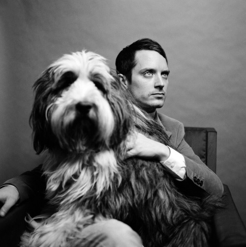 autumndewilde:  Elijah Wood and friend