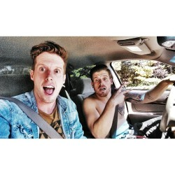 Mobbin around WC with this maniac!! @bllaine  (at walnut creek)
