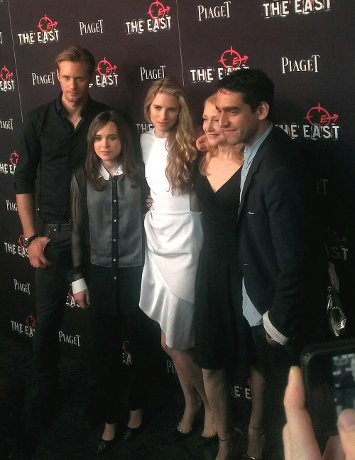 "The entire cast of @foxsearchlight ""The East"" Red Carpet Screening -FashionweekNYC @ twitter"