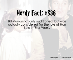 nerdyfacts:  (Source.)  That would have been weird, but I think okay.