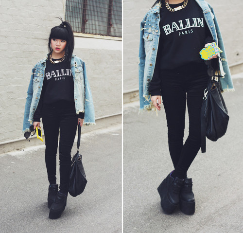 lookbookdotnu:  BALLIN Paris ☆ (by Willabelle Ong)