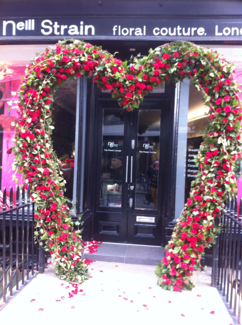 Our local florist here in Chelsea really know how to do it!!