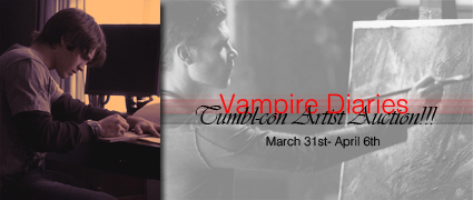 tvdtumblcon:  Join us by bidding on one of our amazing artists during our TVD Artist Auction! It will be held March 31st- April 6th at our livejournal community!  I'm in the auction, guys! Please check it out!