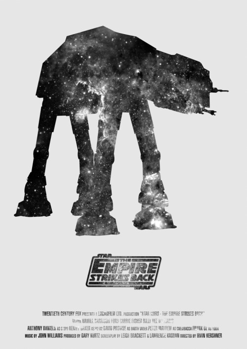 tiefighters:  Star Wars Trilogy Posters A New Hope, The Empire Strikes Back, & Return of the Jedi available for purchase @Society6.  Created by Mark A. Hyland