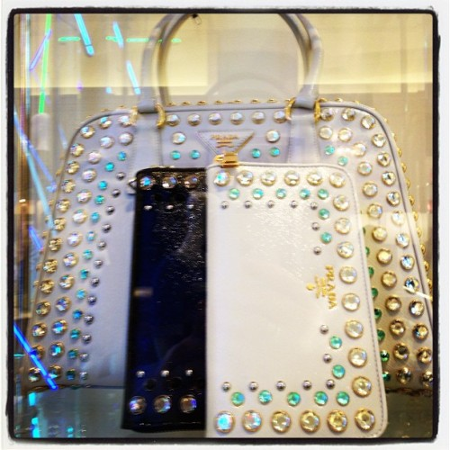 Bling It On! 💎💎 #Bejeweled #Prada @Bergdorfs ~ #fashion (at Bergdorf Goodman)