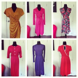 More vintage dresses listed in the shop! www.vintageworldrocks.com #etsy #etsyvintage #bestofetsy