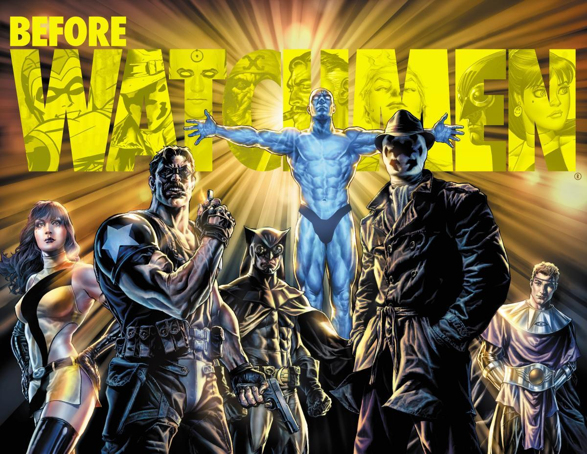 herochan:  Before Watchmen Promotional art for the 2012 DC Comics event. Artwork by Lee Bermejo (via:comicsforever)