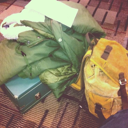 Bags are packed and waiting to catch a plain to St. Louis!!!  SXSW here I come!!