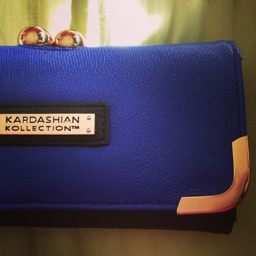 New purse, feel fancy. 👛❤ #purse #kardashiancollection #fancy
