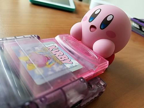kirby nintendo game boy gaming nendoroid