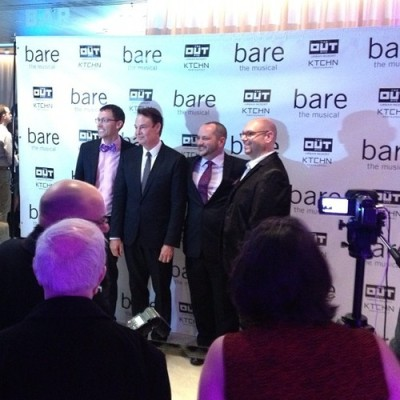 @BareNYC's producers!  #BareTheMusical premiere party - on now @THEOUTNYC #NYC #hotel  (at THE OUT NYC)