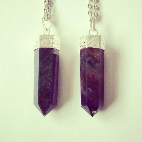empty-casket:  We've just restocked one of our bestsellers, the Bloodstone crystal necklace. 🔮 www.emptycasket.co.uk #crystals #bloodstone #chakra #healing