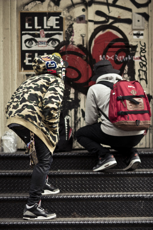 infanintswagg:  My Dude Vincent Was Doing Some Damage On NYC Walls. Illustrated By: Casey