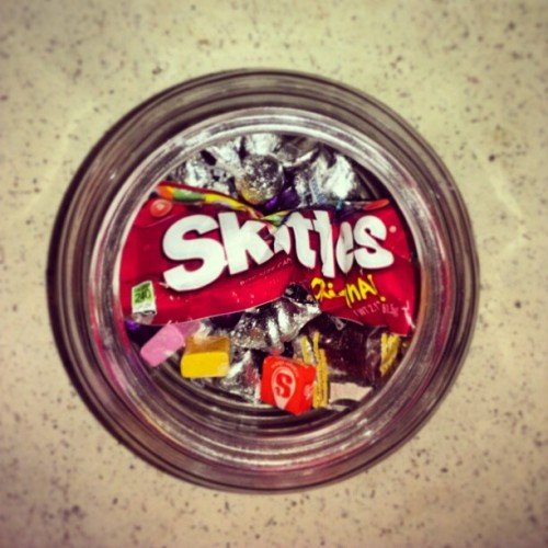Yes. I have a candy stash jar. #oops