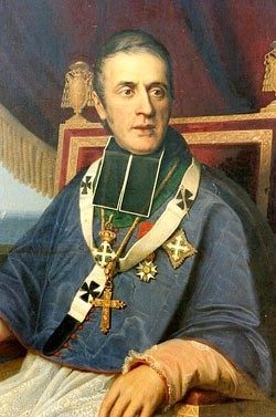 "A Saint a day: May 21 St. Eugene de Mazenod  Patron saint of dysfunctional families 1782 - 1861 Canonized By: Pope John Paul II  Eugene de Mazenod was born on August 1, 1782, at Aix-en-Provence in France. Early in life he experienced the upheaval of the French Revolution. None the less, he entered the seminary, and following ordination he returned to labor in Aix-en-Provence. That area had suffered greatly during the Revolution and was not really a safe place for a priest. Eugene directed his ministry toward the poorest of the poor. Others joined his labors, and became the nucleus of a religious community, the Missionaries of Provence. Later Eugene was named Bishop of Marseille. There he built churches, founded parishes, cared for his priests, and developed catechetic for the young. Later he founded the Oblates of Mary Immaculate, and in 1841 the Oblates sailed for missions in five continents. Pius XI said, ""The Oblates are the specialists of difficult missions."" After a life dedicated to spreading the Good News, Eugene died on May 21, 1861. He was beatified by Pope Paul VI in 1975. www.catholiconline.org"