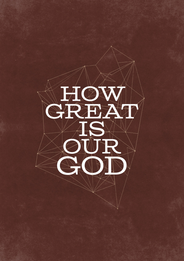 "How Great Is Our God - Chris Tomlin, Ed Cash + Jesse Reeves (WorshipTogether Music) [ 2004 ] From the album ""Arriving"" by Chris Tomlin 48 / 365 www.365worshipproject.comSelected posters available to buy on Society6!"