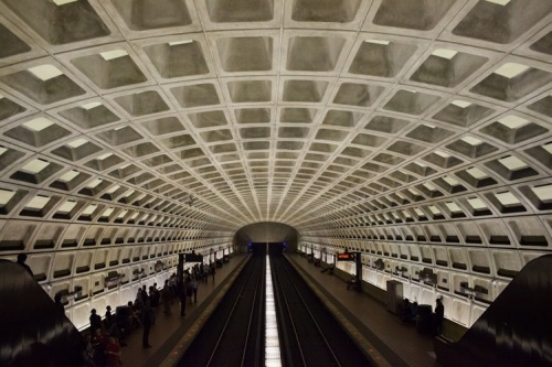 meredithsledge:  The metro in DC. Loved it.