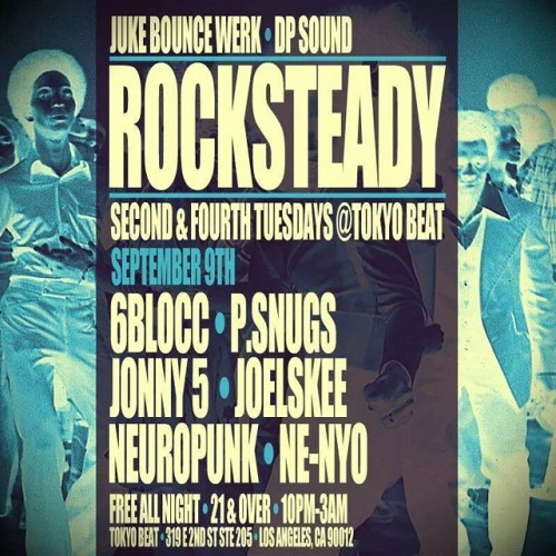 Tonight at @tokyobeat_kareoke, @jukebouncewerk presents Rocksteady w/ @og6blocc +more (at Tokyo Beat)
