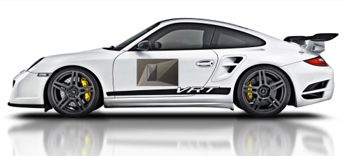 Porsche 911. Come on Porsche, this design has been around forever! Lets freshen it up a bit with this rock-motif! Now it's a cool design!