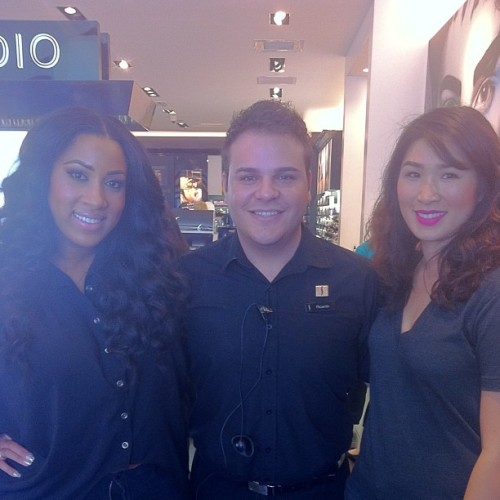 With the amazing girls from SEPHORA PRO TEAM Julie and Myiesha @sephorabeauty @sephora @sephorapro  (at Sephora @ the Gardens on El Paseo)