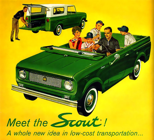 '61 International Harvester Scout
