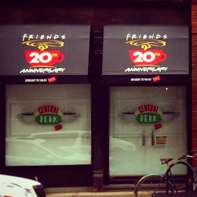 Can't wait!! #friends #centralperk #ross #rachel #chandler #phoebe #gunther #manymore #20thyear