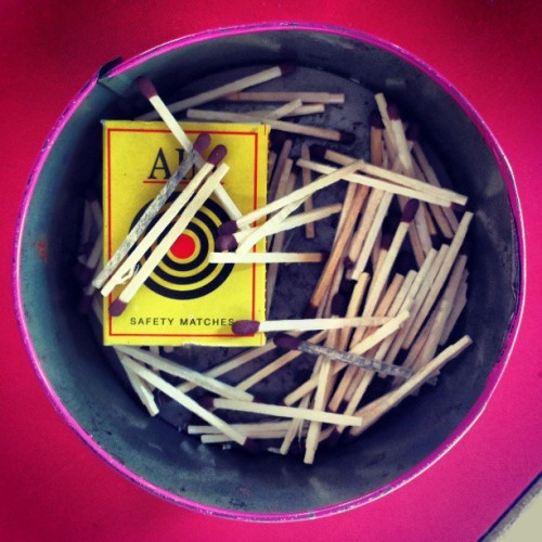 One Fire only …. #one #fire #only #safety #matches #box #boxes #ankit #ankitpanchal #samsung #galaxy #grand #kill #burn