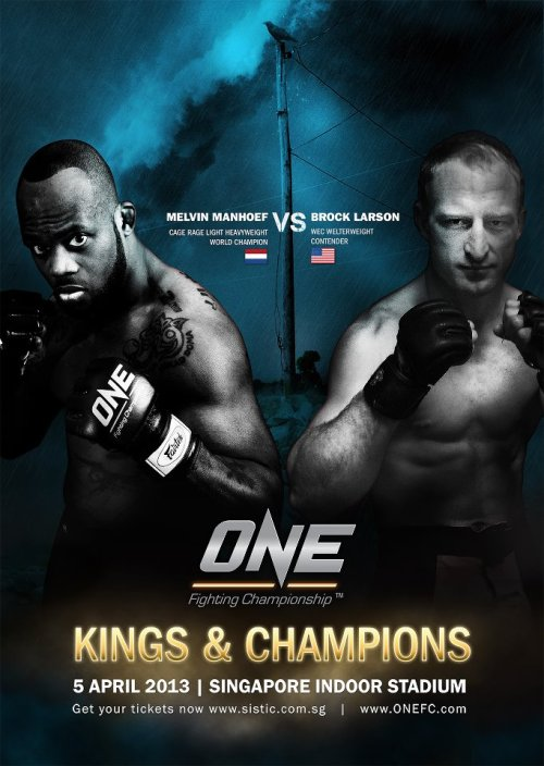 Melvin Manhoef got his opponent for the next One FC.