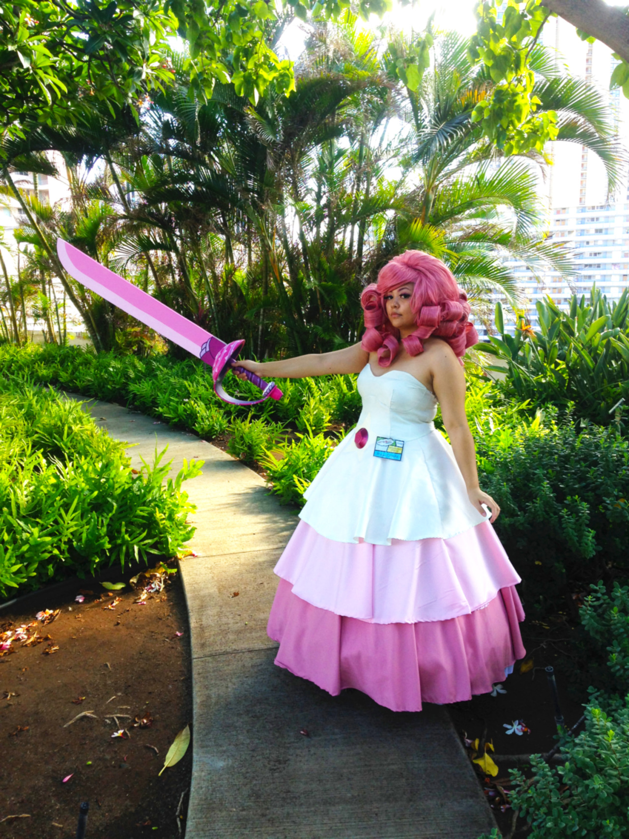 Mizimel as Rose Quartz from Steven Universe