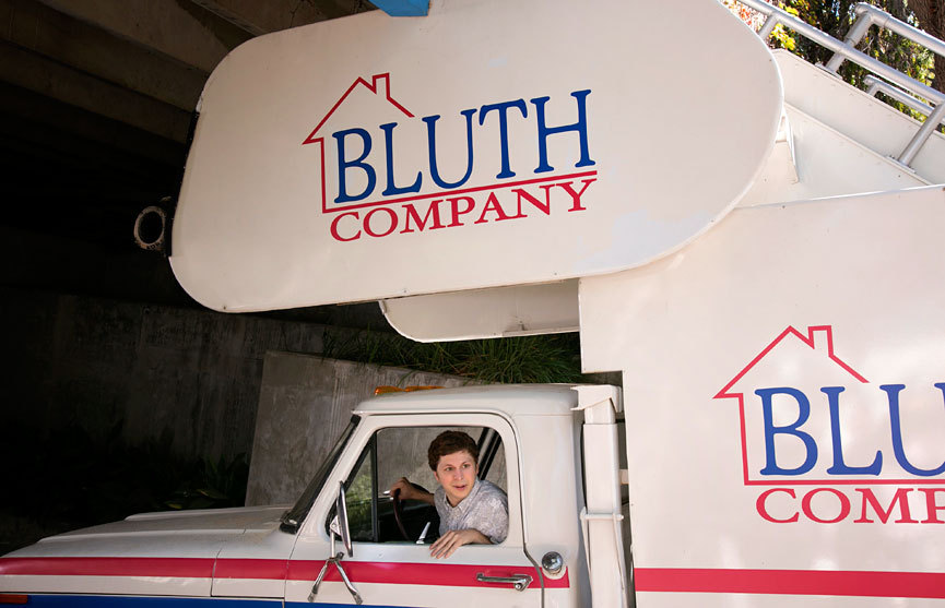 "B is for Bluth After seven long years, the family that gave us ""never nude,"" the chicken dance, money in the banana stand and the stair car is finally back on Netflix this Sunday, May 26. How we've missed you. Photograph by Sam Urdank for Netflix"