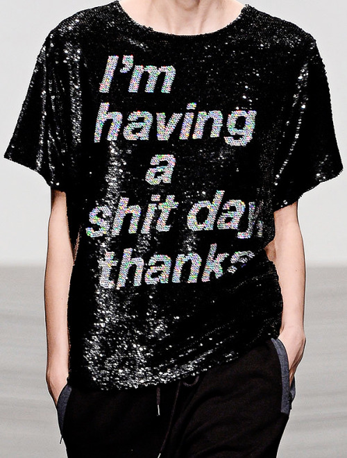 abigaildonaldson:  Ashish Fall/Winter 2013