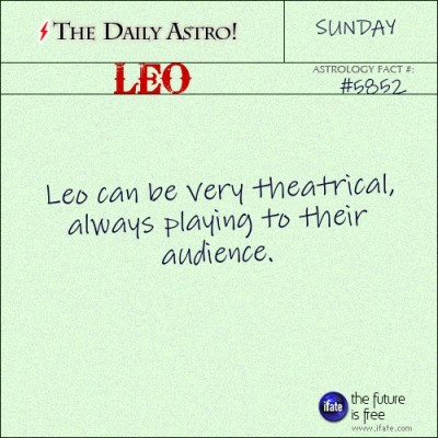 Leo 5852: Visit The Daily Astro for more facts about Leo.