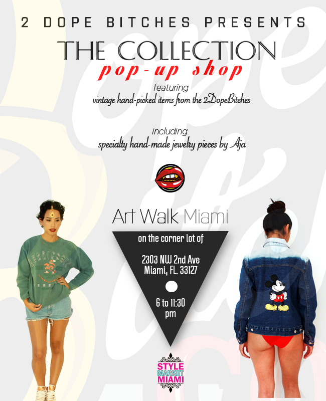 THE COLLECTION Pop Up Shop Art Walk Edtion 5/11   MIAMI ! This Saturday, May 11th, come join us at Style Market Miami! Not sure what that is?…  View Post
