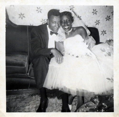 Our Wedding Day 1950's [Black Bride Series] ©WaheedPhotoArchive, 2013