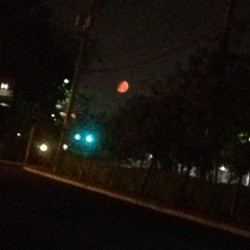 #the #moon #right #now. #wow #omg #gorgeous #gorg #universe #beauty #orange #waxinggibbous #waxing #gibbous #earthscience #bitches #photoofthenight