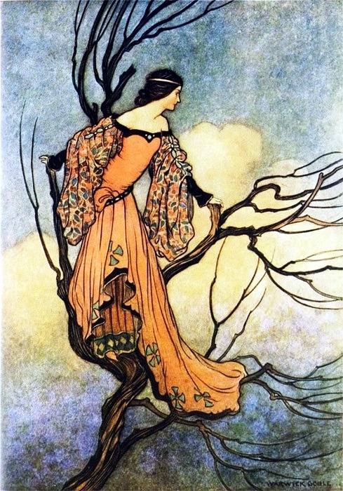 thefaeriefolk:  The Iron Stove by Warwick Goble