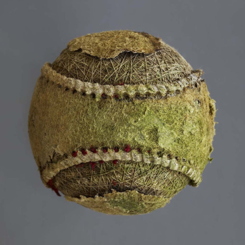 laughingsquid:  Beautiful Photos of Decaying Baseballs by Don Hamerman